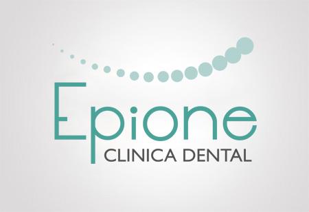diseño logotipo epione clinica dental